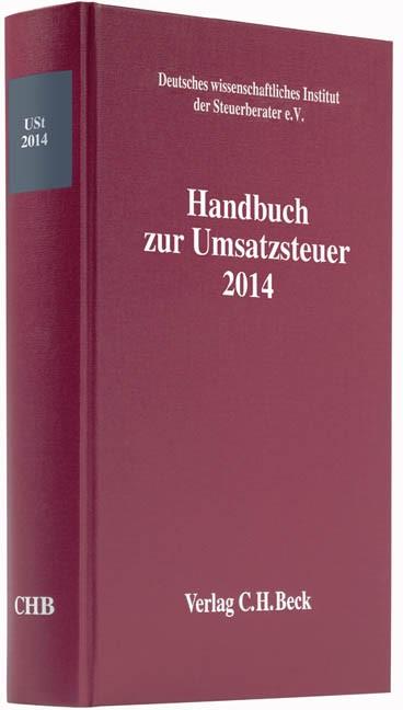 Handbuch zur Umsatzsteuer 2014: USt 2014, 2015 | Buch (Cover)