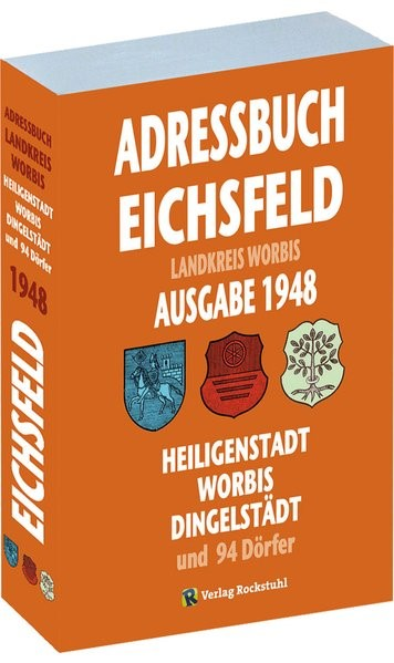 Abbildung von Adressbuch KREIS WORBIS  mit Heiligenstadt, Worbis und Dingelstädt 1948   2014