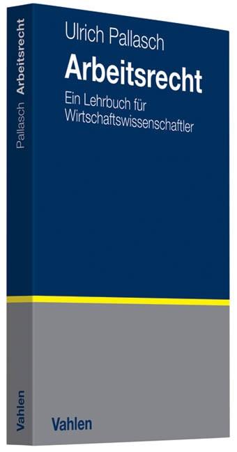 Arbeitsrecht | Pallasch, 2010 | Buch (Cover)