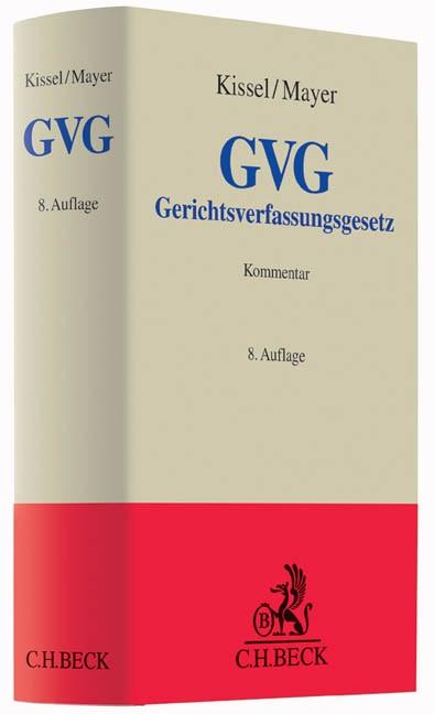 Gerichtsverfassungsgesetz: GVG | Kissel / Mayer | 8., neubearbeitete Auflage, 2015 | Buch (Cover)