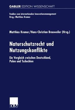 Abbildung von Kramer / Brauweiler   Naturschutzrecht und Nutzungskonflikte   2002