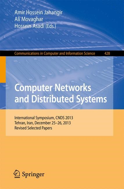 Computer Networks and Distributed Systems   Movaghar / Jahangir / Asadi, 2014   Buch (Cover)