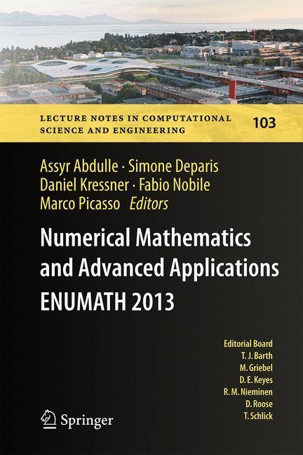 Abbildung von Abdulle / Deparis / Kressner / Nobile / Picasso | Numerical Mathematics and Advanced Applications - ENUMATH 2013 | 2014