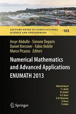 Abbildung von Abdulle / Deparis / Kressner / Nobile / Picasso | Numerical Mathematics and Advanced Applications - ENUMATH 2013 | 2014 | Proceedings of ENUMATH 2013, t... | 103