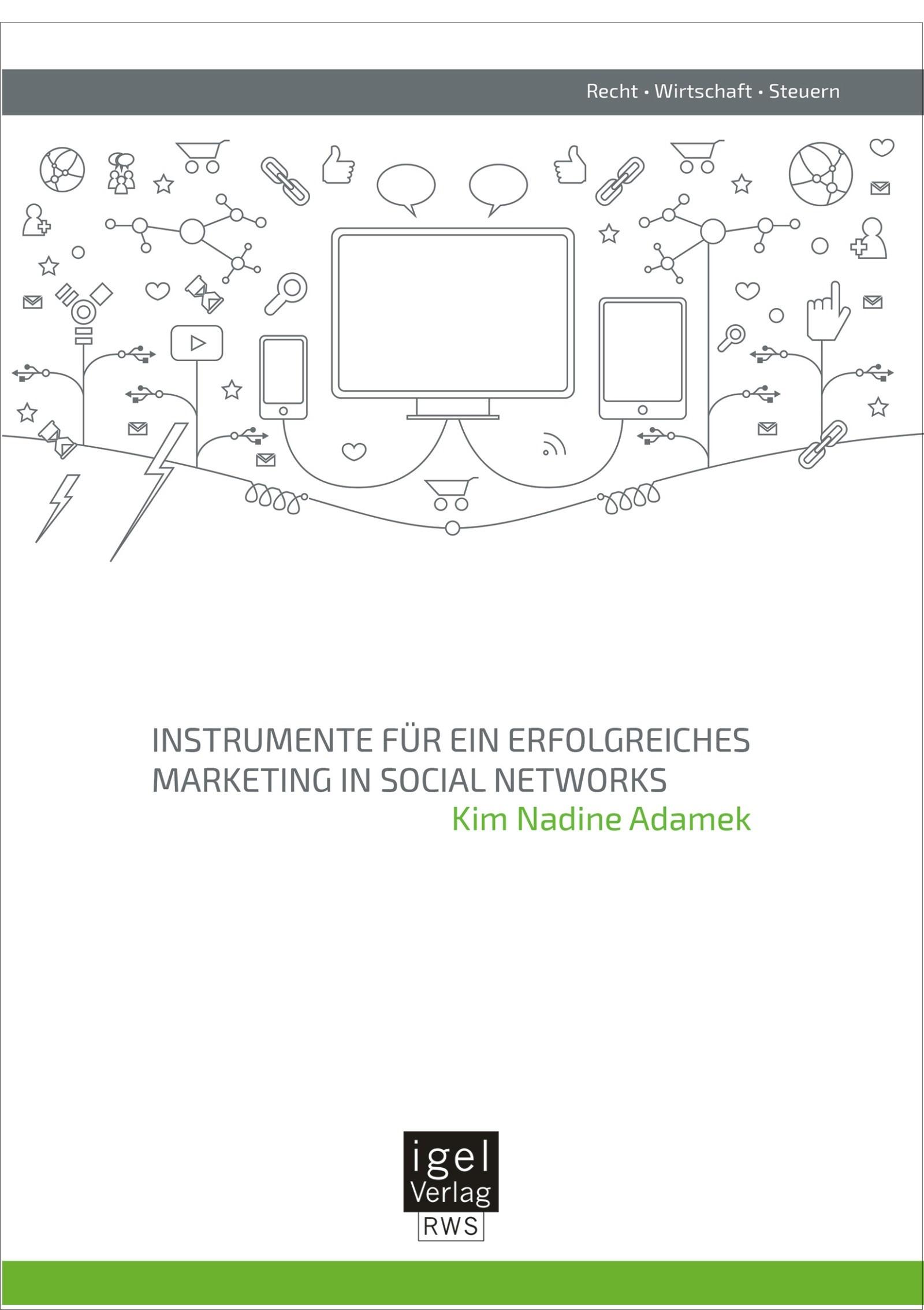 Abbildung von Adamek   Instrumente für ein erfolgreiches Marketing in Social Networks   Erstauflage   2014