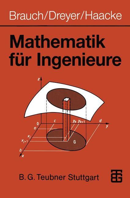 Mathematik für Ingenieure | Brauch / Dreyer / Haacke, 1990 | Buch (Cover)