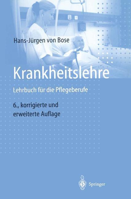 Krankheitslehre | Bose, 2003 | Buch (Cover)