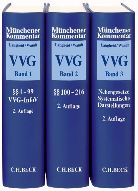 Münchener Kommentar zum Versicherungsvertragsgesetz: VVG | Langheid / Wandt | Buch (Cover)