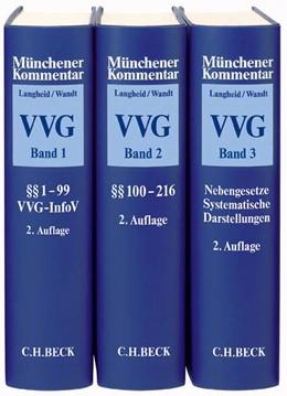 Abbildung von Langheid / Wandt | Münchener Kommentar zum Versicherungsvertragsgesetz: VVG | 2. Auflage | Gesamtwerk in 3 Bänden