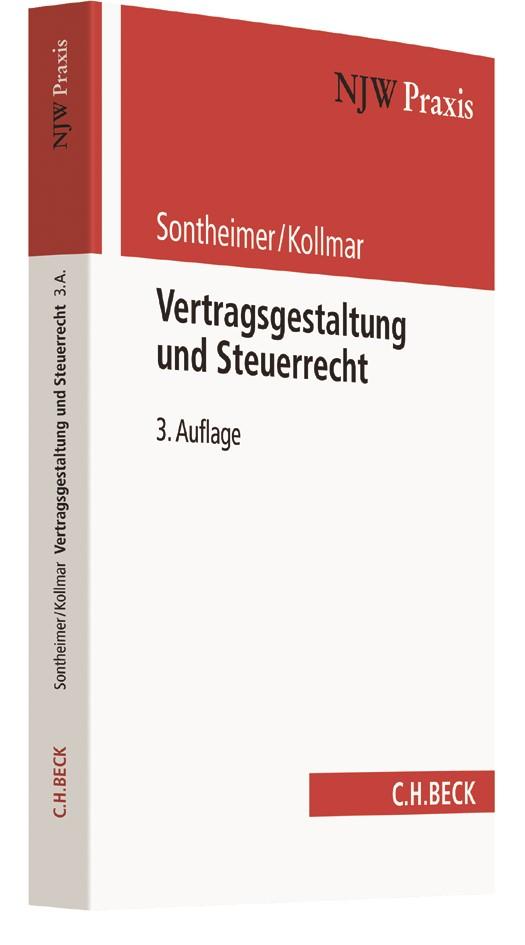 Vertragsgestaltung und Steuerrecht   Sontheimer / Kollmar   3. Auflage, 2017   Buch (Cover)