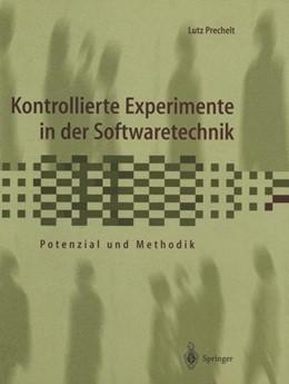 Abbildung von Prechelt | Kontrollierte Experimente in der Softwaretechnik | 2014 | Potenzial und Methodik