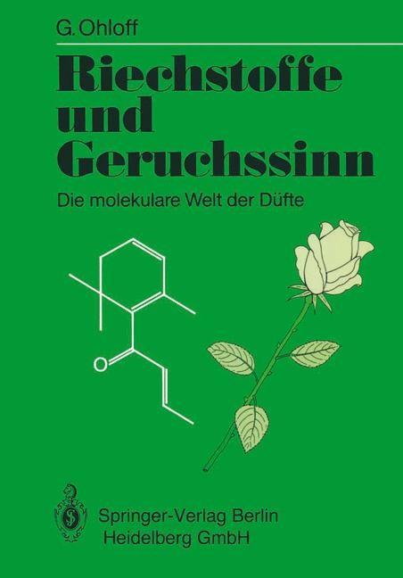 Riechstoffe und Geruchssinn   Ohloff, 1990   Buch (Cover)