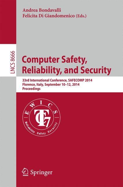 Abbildung von Bondavalli / Di Giandomenico | Computer Safety, Reliability, and Security | 2014