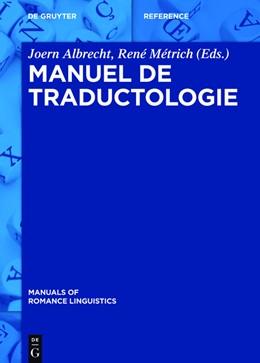 Abbildung von Albrecht / Métrich | Manuel de traductologie | 1. Auflage | 2016 | 5 | beck-shop.de