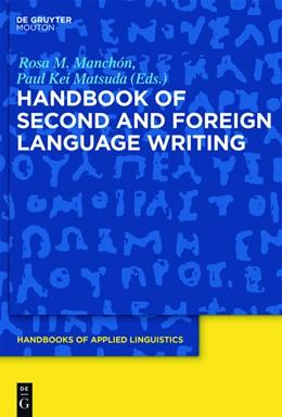 Abbildung von Manchón / Matsuda | Handbook of Second and Foreign Language Writing | 2016 | 11