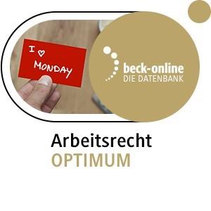 beck-online. Arbeitsrecht OPTIMUM, 2014 (Cover)
