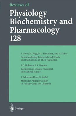 Abbildung von Reviews of Physiology, Biochemistry and Pharmacology | 2014 | Volume: 128 | 128