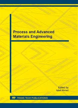 Abbildung von Ahmed | Process and Advanced Materials Engineering | 2014 | Selected, peer reviewed papers... | Volume 625