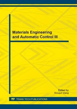 Abbildung von Wang | Materials Engineering and Automatic Control III | 1. Auflage | 2014 | Volume 575 | beck-shop.de