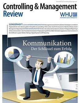 Abbildung von Schäffer / Weber | Controlling & Management Review Sonderheft 2-2014 | 2014 | 2014 | Kommunikation