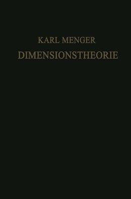 Abbildung von Menger | Dimensionstheorie | 1928