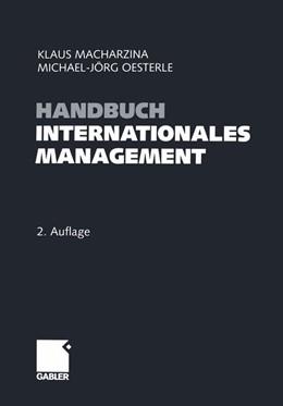 Abbildung von Macharzina / Oesterle | Handbuch Internationales Management | 2. Auflage | 2014 | beck-shop.de