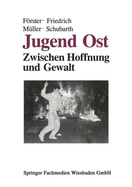 Jugend Ost, 2014 | Buch (Cover)