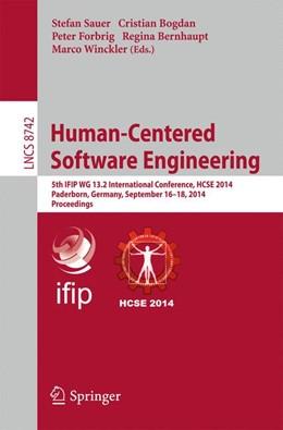 Abbildung von Sauer / Bogdan / Forbrig / Bernhaupt / Winckler | Human-Centered Software Engineering | 2014 | 5th IFIP WG 13.2 International... | 8742