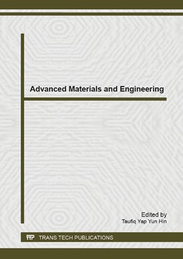 Abbildung von Yun Hin | Advanced Materials and Engineering | 2014 | Selected, peer reviewed papers... | Volume 983