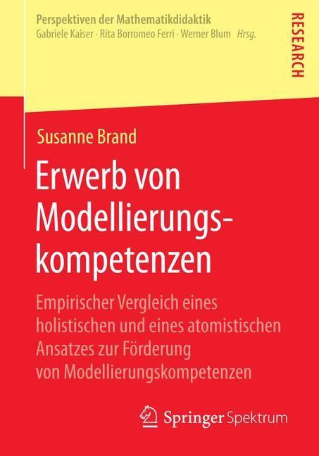 Erwerb von Modellierungskompetenzen | Brand, 2014 | Buch (Cover)