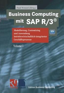 Abbildung von Wenzel   Business Computing mit SAP R/3   2014   Modellierung, Customizing und ...