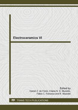 Abbildung von de Florio / Muccillo | Electroceramics VI | 1. Auflage | 2014 | Volume 975 | beck-shop.de