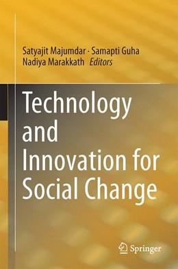 Abbildung von Majumdar / Guha / Marakkath | Technology and Innovation for Social Change | 2014