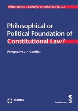 Abbildung von Riberi / Lachmayer   Perspectives in Conflict   2015   Philosophical or Political Fou...