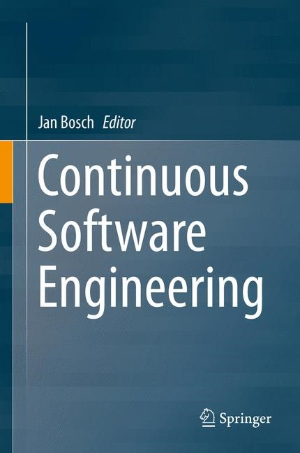 Continuous Software Engineering | Bosch, 2014 | Buch (Cover)