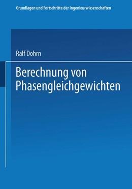 Abbildung von Dohrn | Berechnung von Phasengleichgewichten | 2014