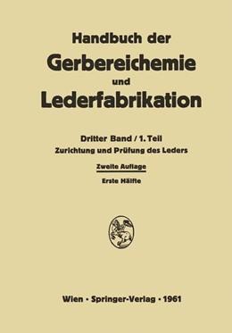 Abbildung von Ackermann / Brill / Diekmann | Zurichtung und Prüfung des Leders | 2014 | 3 / 1