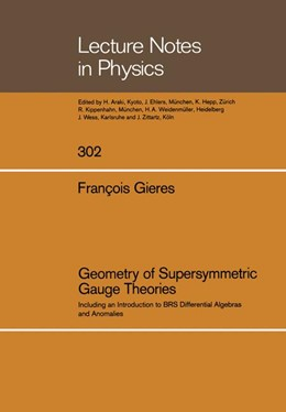 Abbildung von Gieres | Geometry of Supersymmetric Gauge Theories | 2014 | Including an Introduction to B... | 302