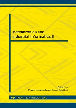 Abbildung von Yarlagadda / Choi | Mechatronics and Industrial Informatics II | 2014 | Selected, peer reviewed papers... | Volume 596