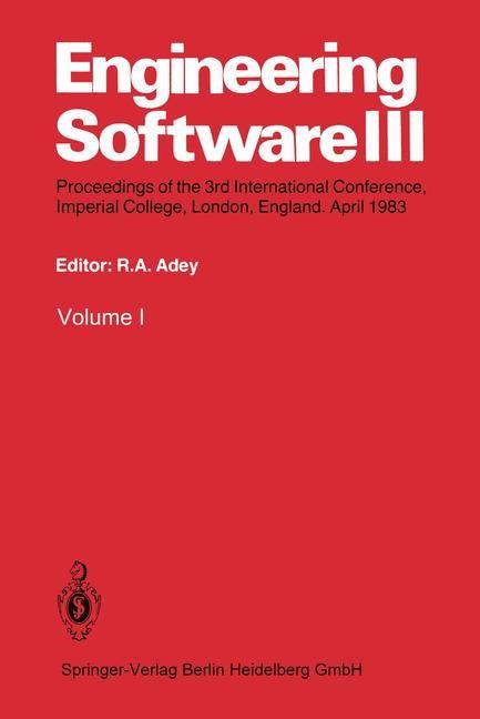 Abbildung von Adey | Engineering Software III | 2014