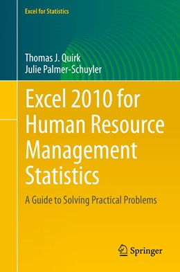 Abbildung von Quirk / Palmer-Schuyler | Excel 2010 for Human Resource Management Statistics | 1. Auflage | 2014 | beck-shop.de