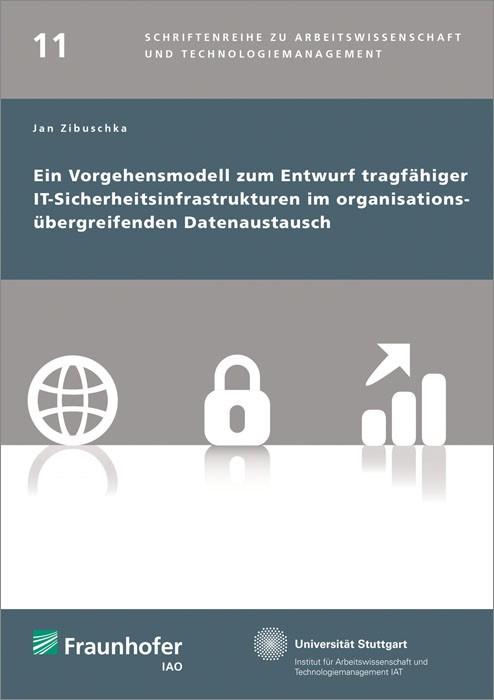 Ein Vorgehensmodell zum Entwurf tragfähiger IT-Sicherheitsinfrastrukturen im organisationsübergreifenden Datenaustausch. | / Spath / Bullinger, 2014 | Buch (Cover)