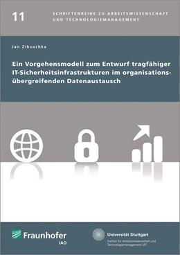 Abbildung von / Spath / Bullinger   Ein Vorgehensmodell zum Entwurf tragfähiger IT-Sicherheitsinfrastrukturen im organisationsübergreifenden Datenaustausch.   2014   11