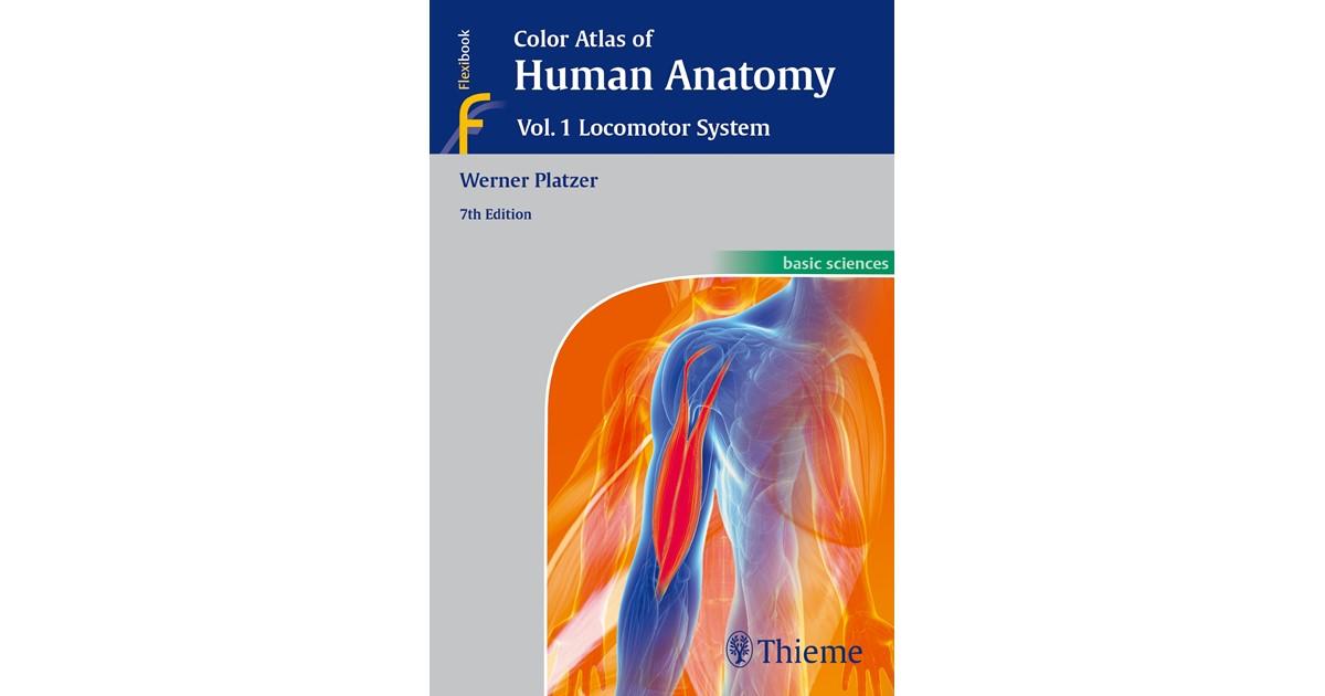 Color Atlas Of Human Anatomy Vol 1 Platzer 7th Edition 2014