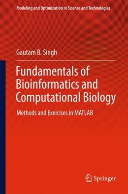 Abbildung von Singh   Fundamentals of Bioinformatics and Computational Biology   1. Auflage   2014   6   beck-shop.de