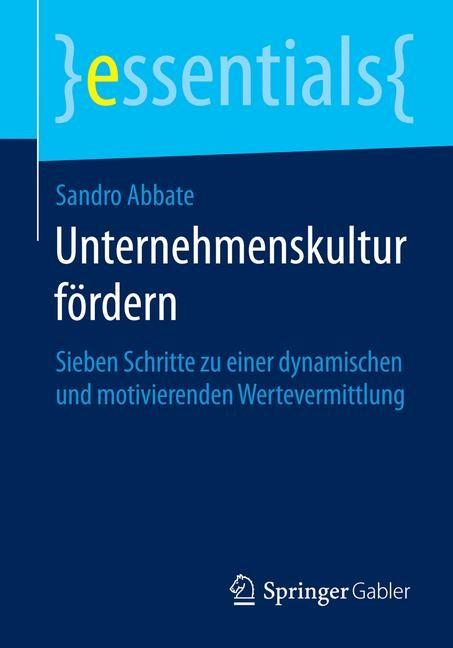 Unternehmenskultur fördern | Abbate | 2014, 2014 | Buch (Cover)