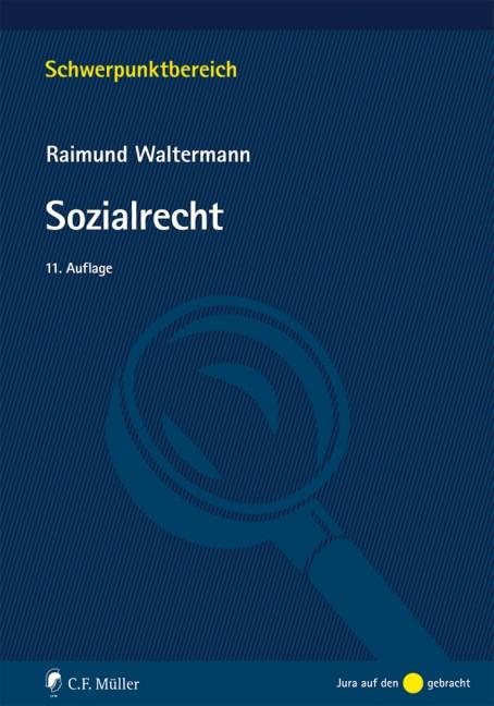 Sozialrecht | Waltermann | 11., neu bearbeitete Auflage, 2016 | Buch (Cover)