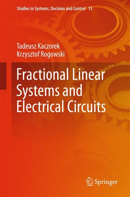 Fractional Linear Systems and Electrical Circuits | Kaczorek / Rogowski, 2014 | Buch (Cover)
