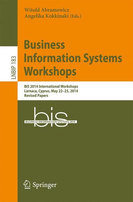 Abbildung von Abramowicz / Kokkinaki | Business Information Systems Workshops | 2014