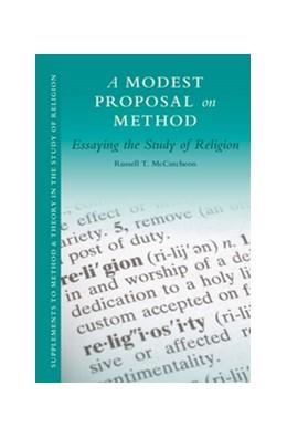 Abbildung von McCutcheon | A Modest Proposal on Method | 1. Auflage | 2014 | 2 | beck-shop.de